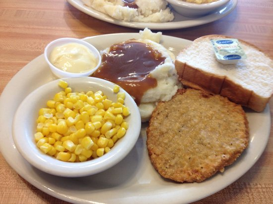 Charlie's Cafe : Veal plate at $6.95