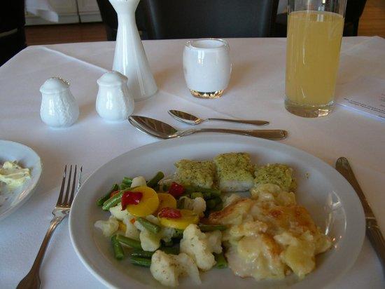 Hotel Vier Jahreszeiten Binz: Dinner
