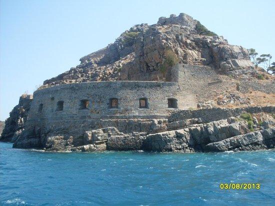 Hara Ilios Hotel : forteresse spinalonga