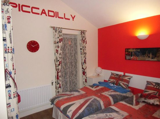 Rowan Park Lodge: Our lovely Piccadilly Room! :)