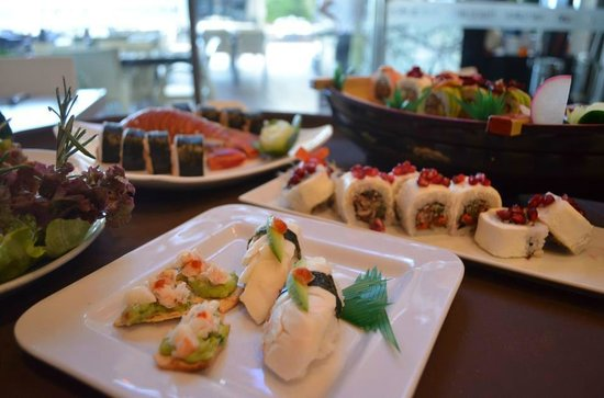 Wazaaabi Sushi House: Riquísima comida en Wazaaabi!!
