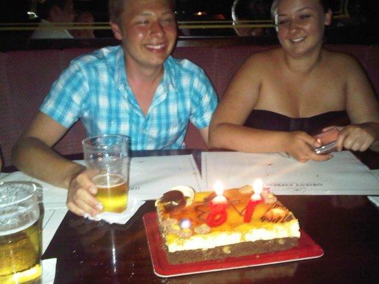 Orient Express Restaurant : Happy 18th Charlie