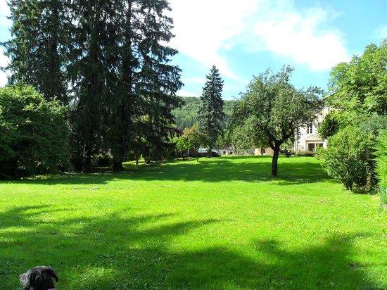 A la Grenouille: Le parc