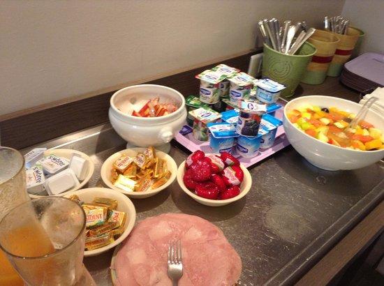 Timhotel Nation : Desayuno