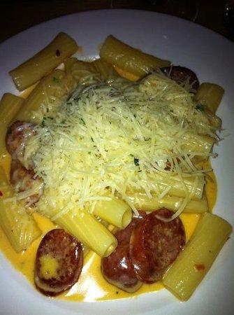 La Bottega : rich and delicious pasta with vodka cream sauce