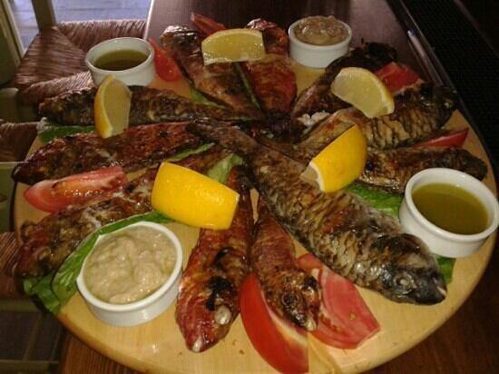 THYMARI: fresh fish...
