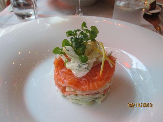 Reinwald's: Salmon appetizer