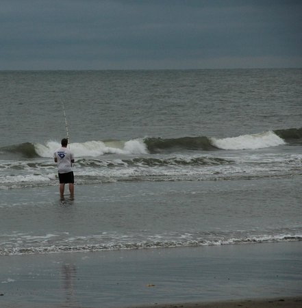 good fishing at Kure beach - Picture of Fort Fisher State