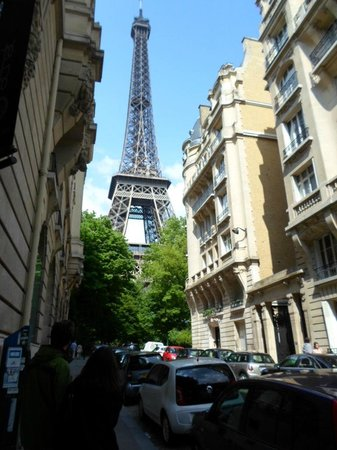 Eiffel Saint Charles: From street by Hotel