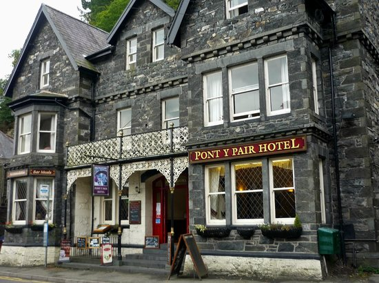 Pont-y-Pair Hotel and Restaurant: Pont-y-Pair Hotel, Betws-y-Coed