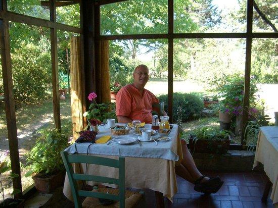Agriturismo La Chiusa: so geht es uns gut!/ Speiseraum