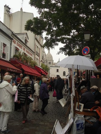 Culturefish! Tours: Artists in Montmartre