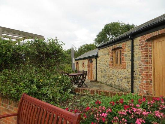Niton Barns: Tennyson Cottage at Niton Farm, Isle of Wight