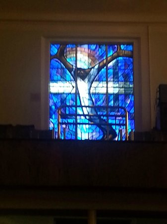 """Wales Window"" inside 16th Street Baptist Church"