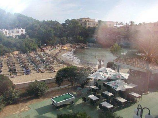 Barcelo Ponent Playa: View from room 150 main block