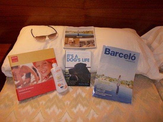 Barcelo Ponent Playa: This book is a great read if you can find a copy?