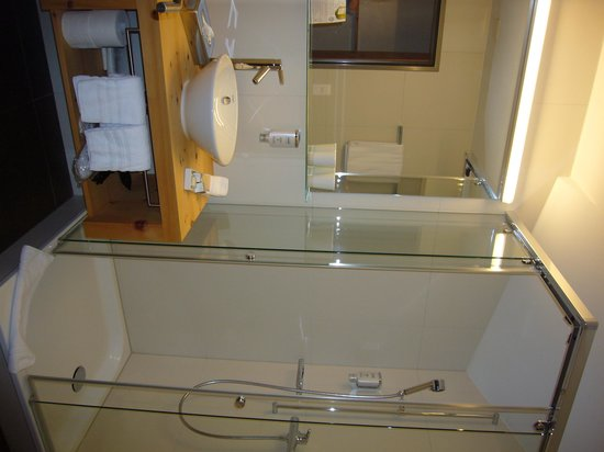 Hotel Donatz: salle d'eau