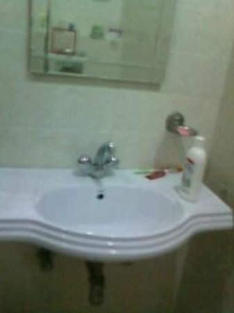 The Hospitality Home Bed & Breakfast: cleaned basin