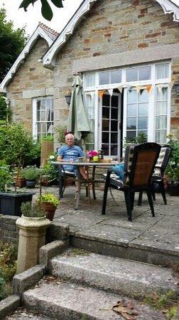 Cleaderscroft: terrasse