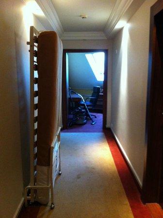 Auberge de Letraz : Le couloir
