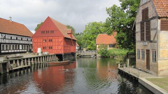 East Jutland, Danemark : Waterways