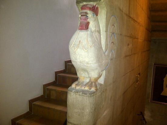 Hotel d'Alleves: detalle escalera