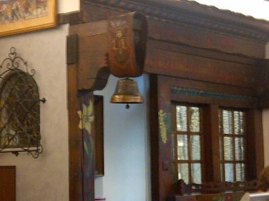 Hotel d'Alleves: detalle sala desayunos