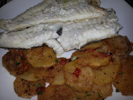 La Locanda da Pino: Rombo con patate