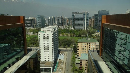 Santiago Marriott Hotel : View from room 1901