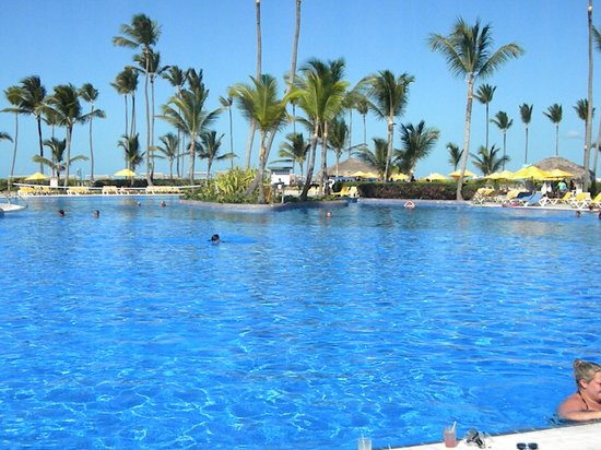 piscina photo de ocean blue sand bavaro tripadvisor. Black Bedroom Furniture Sets. Home Design Ideas