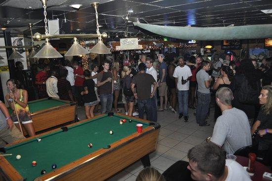 Pirate S Cove Lounge Bar Area Crowded On A Saay Night