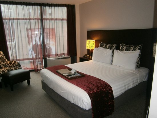 Rydges Wellington: Stylish and comfortable room