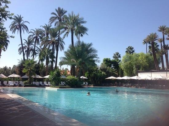 La Mamounia Marrakech : Pool.