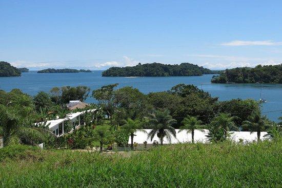 Hotel Bocas del Mar : La vue au dessus de l'hotel