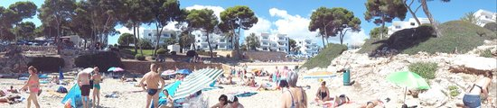 Inturotel Esmeralda Park: beach and appartments