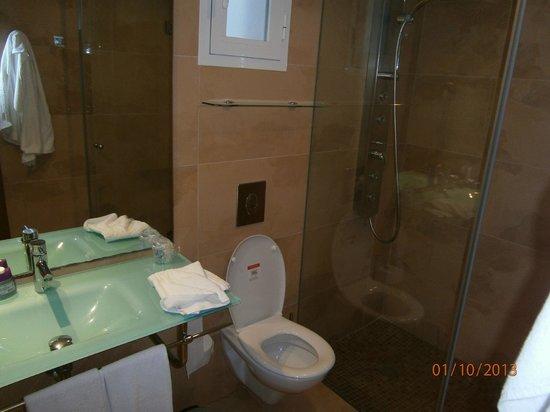Aparthotel Ferrera Blanca: baño