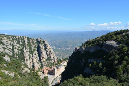 Sant Joan Funicular Railway: Great view