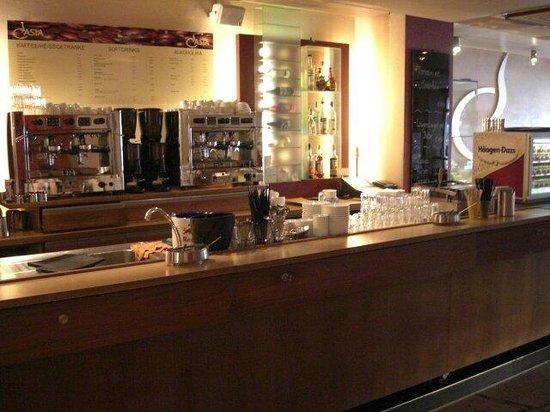 CAsia Espressobar: Theke