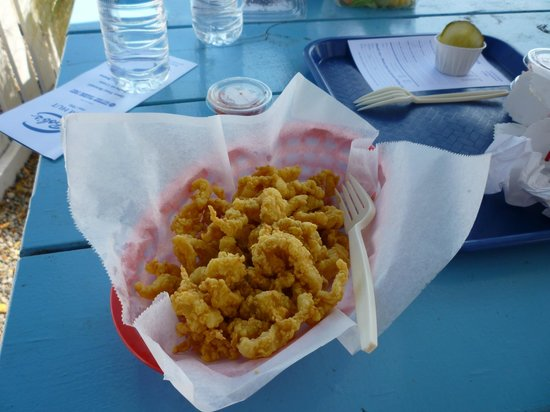 Bob's Clam Hut: Small order of clams w/o fries
