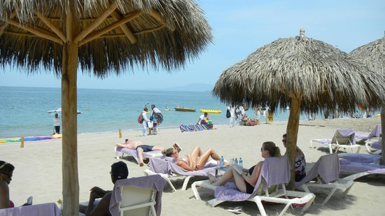 Secrets Vallarta Bay Puerto Vallarta: The lovely beach view