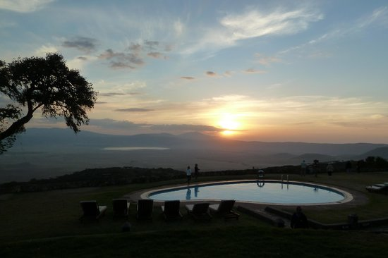 Ngorongoro Sopa Lodge : Piscine