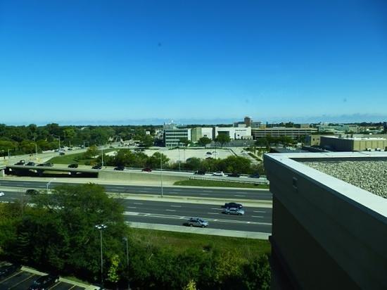 Hampton Inn & Suites Chicago North Shore/Skokie: view from room 8th floor