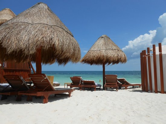 Beloved Playa Mujeres: Amazing view from beach