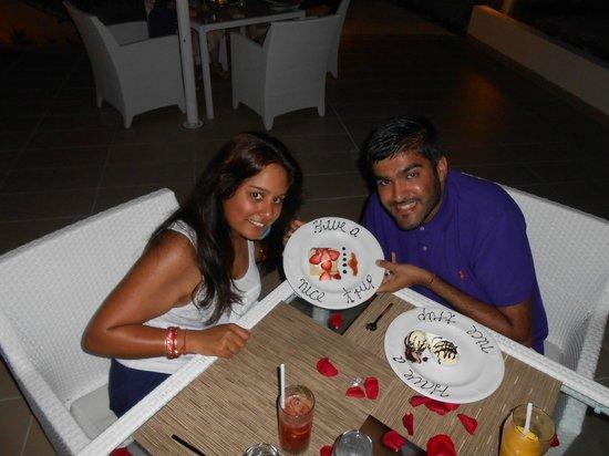 Beloved Playa Mujeres: Our last night on our honeymoon
