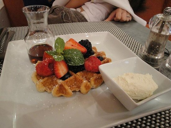 Fig & Olive Uptown : Fig and Olive Waffle