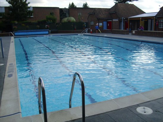 Pool picture of petersfield outdoor air swimming pool - An open air swimming pool crossword clue ...
