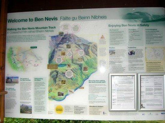Ben Nevis Inn : Ben Nevis Mountain