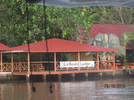 La Baula Lodge: Hotel dock
