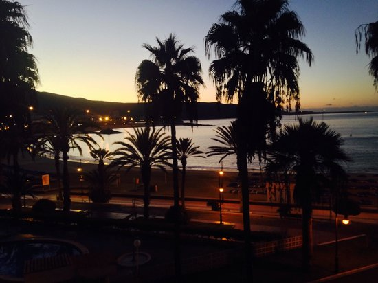Compostela Beach Golf Club: Nice morning view from our room ..
