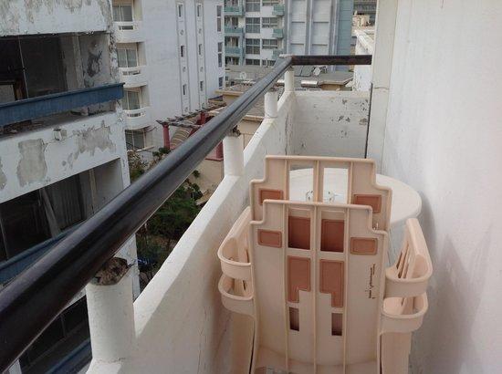 City Center Hotel: Balcony